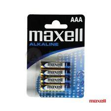 Batteria pila Alcalina 1.5 V ministilo AAA Maxell LR3 confezionate blister 4 pz.