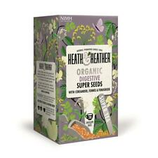 💚 Heath & Heather Organique Super graines Botanique Infusion 20 bags
