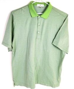 Fairway & Greene mens golf polo shirt cotton lime-green-Respect for the Game-XXL