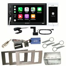 Sony XAV-AX1005DB Digitalradio USB Einbauset für Ford Kuga Fusion Galaxy S-Max
