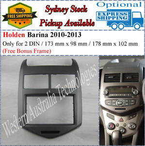 Fascia facia Fits Holden Barina TM 2011+ Double Two 2 DIN Dash Kit