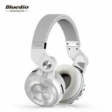 Bluedio T2 Plus Bluetooth Wireless Headphones - White