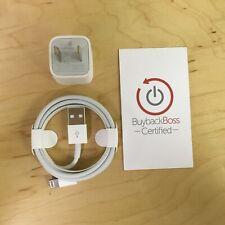 Apple Charger Accessories Bundle - Authentic, Original Block + Lightning Cable