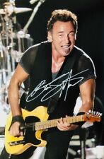 """SALE - Bruce Springsteen 12x8"""" Signed Photo With CoA"""
