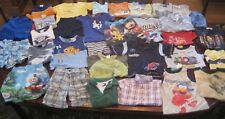 Huge Lot Sz 3 Toddler Boys Play Clothes Summer Clothing Mickey Mouse Elmo Thomas