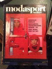 MODA SPORT VACANZE N°42 1982 MODA SPORT VINTAGE STYLE MAGAZINE
