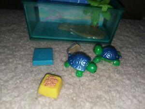 VINTAGE 1992 LITTLEST PET SHOP TODDLING TURTLES COMPLETE SET BY KENNER