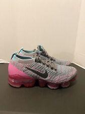 Nike Air Vapormax Flyknit 3 Gunsmoke/Laser Fuchsia Women's 6.5 [CI7577-001] pink