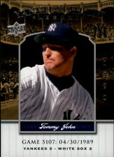 2008 Upper Deck Yankee Stadium Legacy Collection Baseball Card Pick 5107-6741