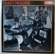 """GARY MOORE - STILL GOT THE BLUES - VIRGIN 210558 - 12"""" LP (Y417)"""