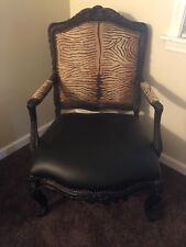 Fairfield Leather Arm Chairs