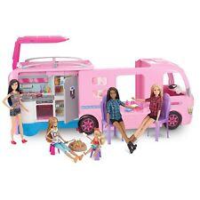Barbie Camper RV Van Outdoor Swimming Pool with Accessories Play Pretend Toy DIY