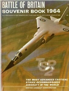 BATTLE of BRITAIN SOUVENIR BOOK 1964: TSR-2 & GFR / RAAF/ THE BELFAST/ DOWNLOAD