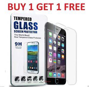 Genuine Tempered Glass Screen Protector Cover For LG Q7 Q6 G7 G6 G5 G4 K4 K8 K10