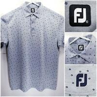 FootJoy FJ Mens XL Golf Shirt Polo Gray Polyester