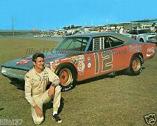 BOBBY ALLISON 1970-71 DODGE CHARGER DAYTONA 500 NASCAR AUTO RACING 8X10 PHOTO