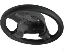 Pour jeep wrangler tj 1997-2006 mk2 noir volant en cuir perforé couvrir