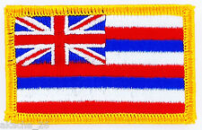 Ecusson Brodé PATCH drapeau Hawaï Hawaii USA FLAG EMBROIDERED