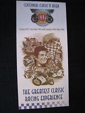 Flyer Centennial Classic TT Assen 8th, 9th and 10th May 1998 (TTC)