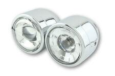 LED Double Headlight Chrome Suzuki Sv 650 1000 N GSX 750 1200 1400