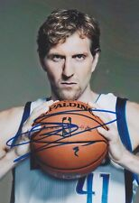 "DIRK NOWITZKI ""Dallas"" 13x18 signiert IN PERSON Autogramm signed RAR SELTEN"