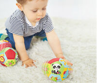 Farbe Baby Kinder Ring Glocke Ball Baby Tuch Musik Sinn Lernen Spielzeug 4HM0HWC