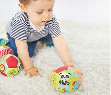 Beißring Hand Ball Baby Rasseln Beißring Greiflinge Schütteln Glocke Spielz P1S4
