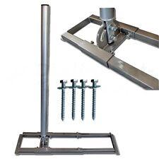 Dachsparrenhalter Mast Rohr Sparren Halterung Sat Antenne Dach Montage Schrauben
