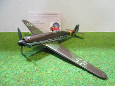 FW TA152 de 1940 marron echelle 1/72 OXFORD AC028 avion militaire de collection