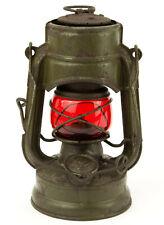 Vintage Lantern FeuerHand No. 75 ATOM STK RED Sturmkappe Kerosene Oil Storm Lamp