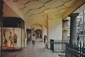 Chester.  Eastgate Street Row. Postcard in fair condition (written on -date 1970