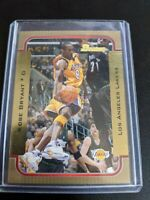 2003-04 Bowman KOBE BRYANT #100 Gold Los Angeles Lakers Lebron RC YR