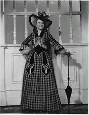 Deanna DURBIN in Walter Plunkett designed gown! still CAN'T HELP SINGING (1944)
