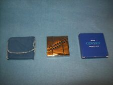 1985 New Old Stock AVON ODYSSEY Beauty Makeup Mirror Compact-Original Box-Pouch