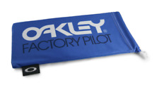 Oakley Sunglasses Microbag / Cleaning & Storage Bag / FACTORY PILOT BLUE Pouch