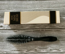 "Vintage Avon Mini Brush Tortoise Brown 6"" New in Box Travel"