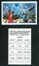 Michael Adamas ( Seychelles ) :  calendario 2007  formato cm 6 x 9  plastificato