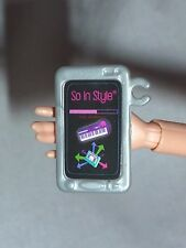 ACCESSORY ~BARBIE DOLL SO IN STYLE SILVER GRAY I-POD PHONE MINIATURE FOR DIORAMA