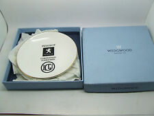 WEDGWOOD BONE CHINA PEUGEOT CORONATION FOURSOMES GOLF PIN TRAY DISH COASTER BOX