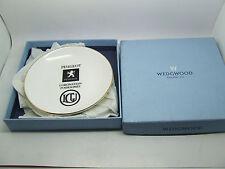 WEDGWOOD BONE CHINA PEUGEOT CORONATION FOURSOMES GOLF PIN TRAY DISH COASTER BOX