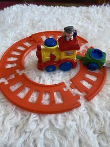 Navystar Musical Train Motorized Track Preschool Baby Toy Sounds Lights