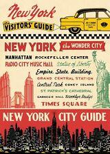 Cavallini New York City Guide Flat Wrap