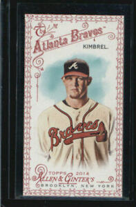 2014 Topps Allen and Ginter Mini Red #43 Craig Kimbrel #/33 BX 1P