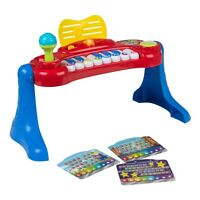 winfun–Electronic Organ with Legs with Light & Sound (colorbaby 44535)