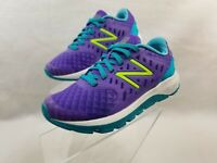 New Balance Shoes Kids Girls Size 10.5 Wide Purple Sneakers Fuel Core Urge
