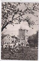 Ansichtskarte Tittmoning a. d. Salzach - Blick auf das Laufener Tor - s/w