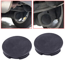 2x Exhaust Tail Pipe Cap Water Baffle Cover For Smart Fortwo Forfour W451 Black