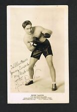 OLD RARE BELGIUM World Champion RENE DEVOS vintage signed boxing photo  boxer