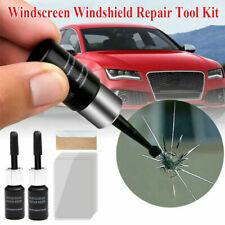 2pcs/kit Auto Glass Nano Repair Fluid Car Windshield Windscreen Chip Crack Tools