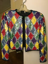 Sequined Bolero Jacket, Women's, Approx size 6-8